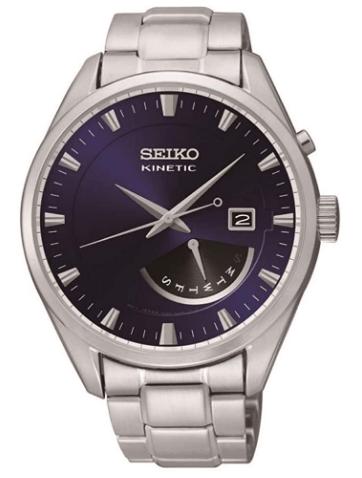 Seiko Men's SRN047P1 Kinetic Blue Watch