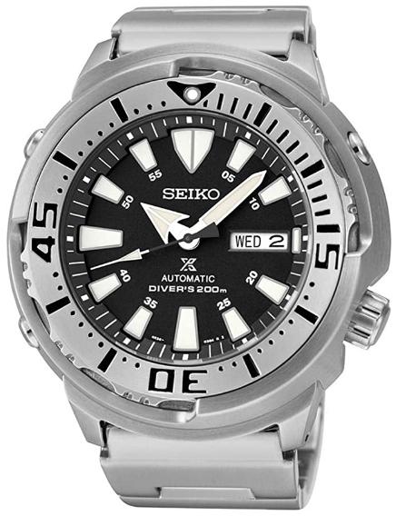 Seiko Men's Prospex Analog Automatic  Stainless Steel Watch