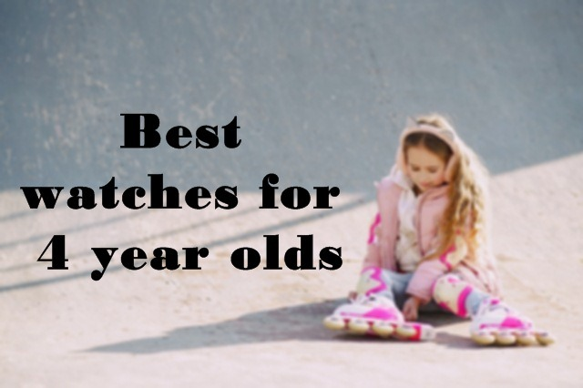 watches for 4 year olds