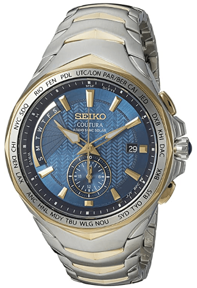Seiko Men's Analog Display Japanese Quartz Watch