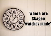 where are skagen watches made