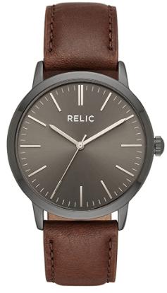 Relic by Fossil Men's Jeffery Quartz Metal Casual Watch